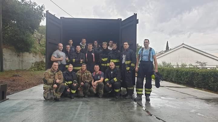 Osposobljavanje operativnih vatrogasaca